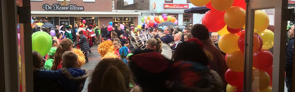 13 November om 14.30 uur Intocht Sinterklaas